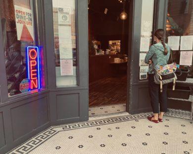 Cafe Astoria Front Door